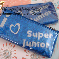 Super Junior Pencil Case