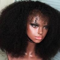 Natural Looking Curly Human Hair Wig  - Thumbnail 1