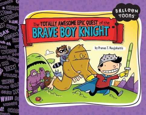 The Brave Boy Knight (Softcover)
