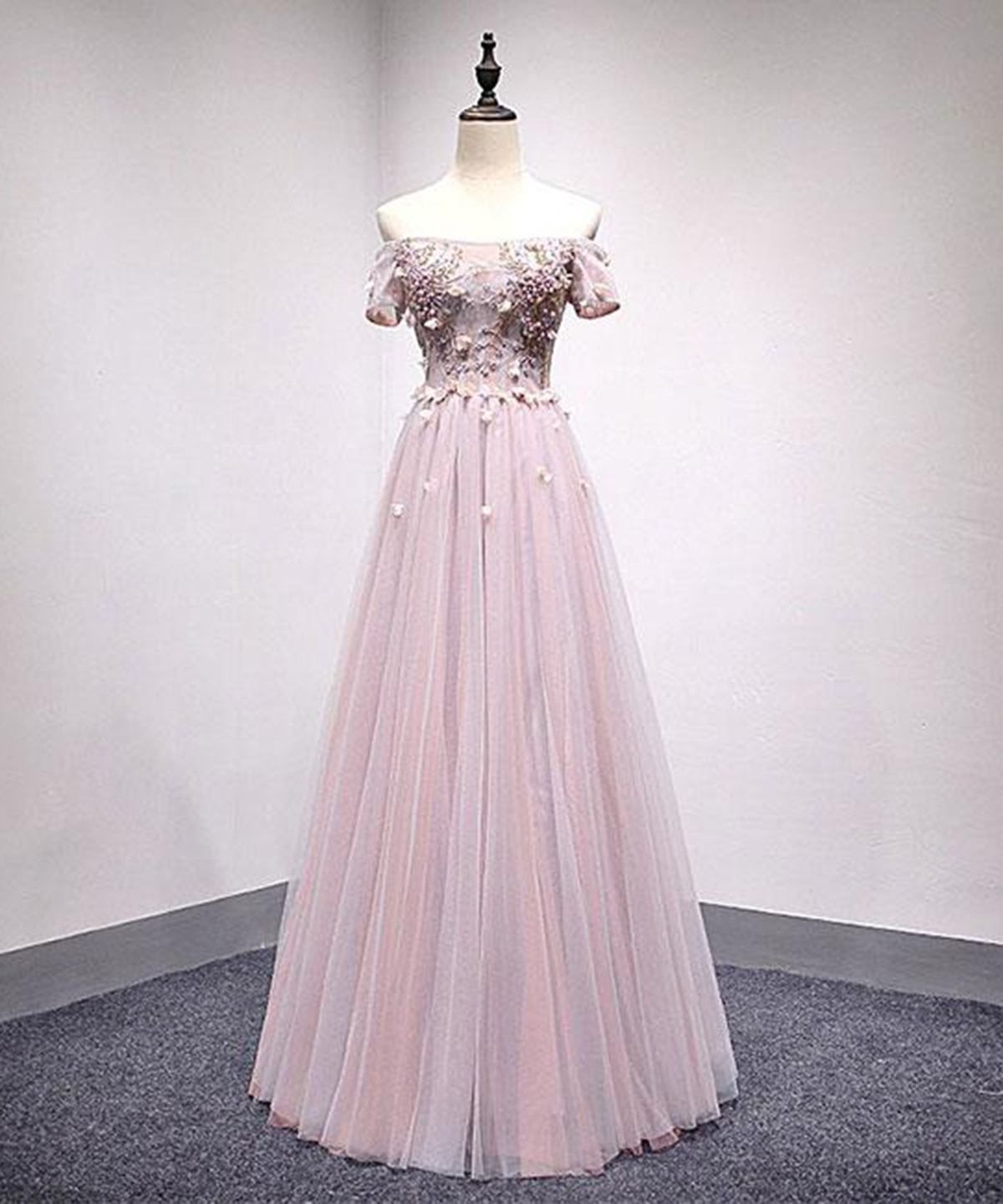 Cheap Prom Dresses by SweetheartDress · Smoking pink off shoulder ...