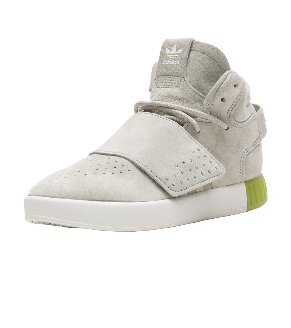 c2731840741d ... Adidas  Tubular Invader Strap Sneakers (Solar Lime) - Thumbnail 3