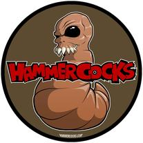 Hammercocks Fugworm Sticker