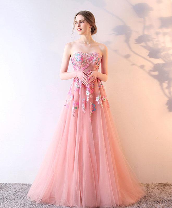Stylish tulle lace long prom dress, lace evening dress G232 ...