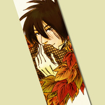 Zoshi Leaves Bookmark