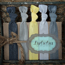 ray of sunshine : original {knotieties} 10 pack