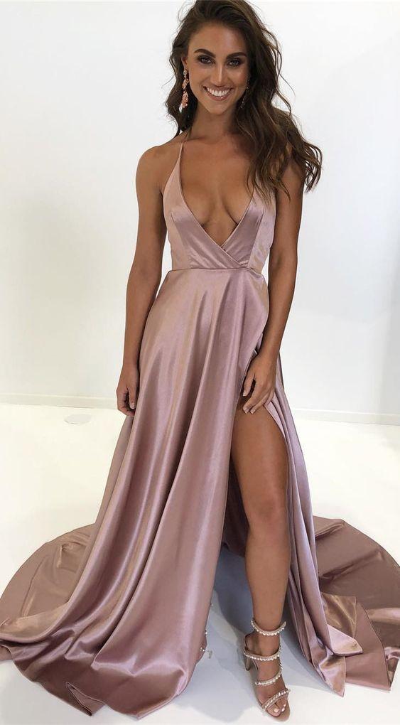 Prom Silk Dresses