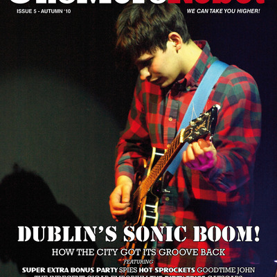 One more robot issue 5 - dublin's sonic boom!