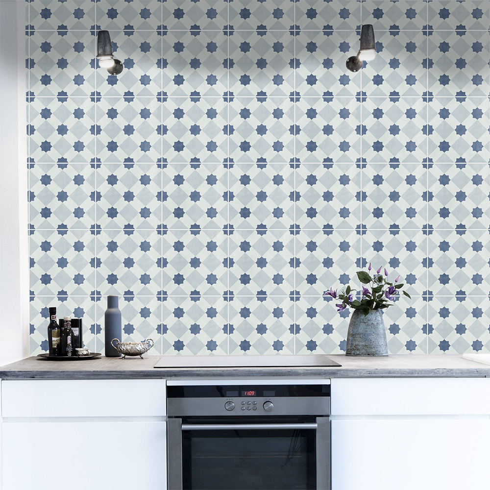 Bristol Tile Stickers, Suitable for Wall and Floor, Waterproof, Tile ...