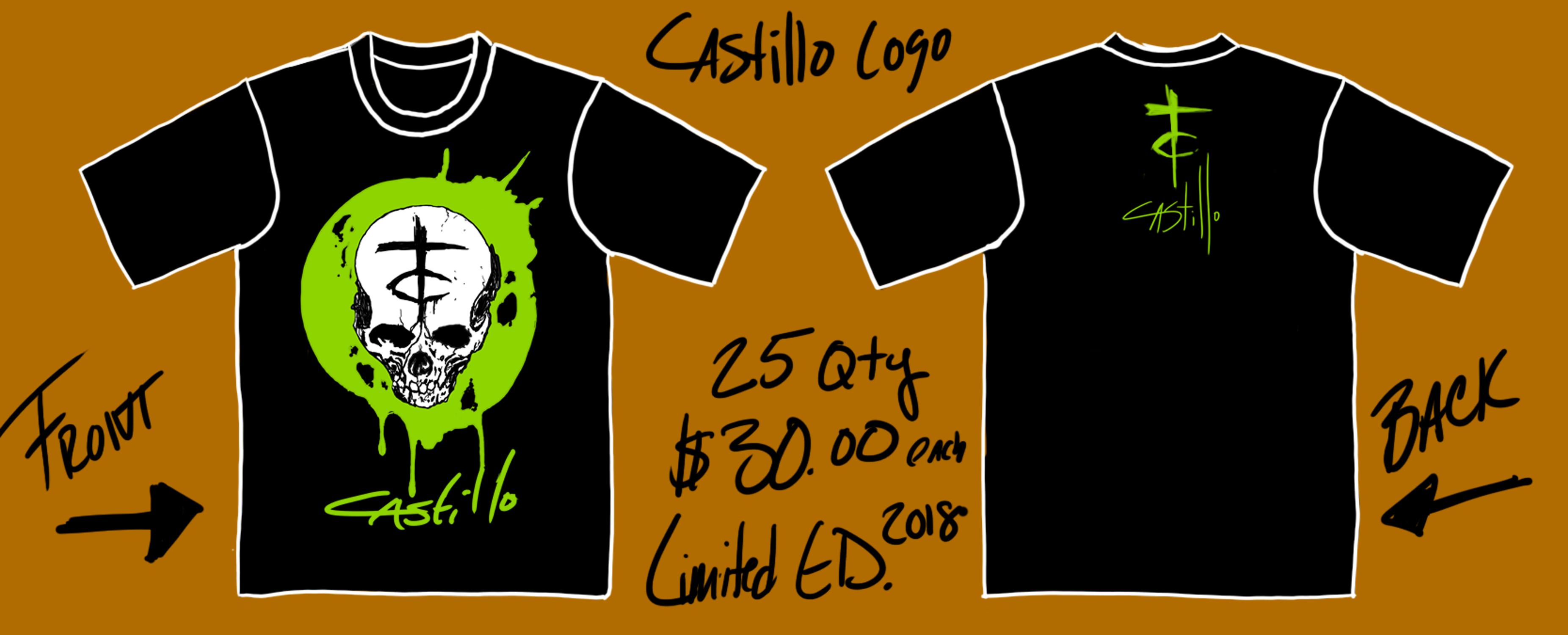 028a41eb95e5a2 Castillo Studios Logo Tee 2018 Limited Edition · Castillo Studios ...