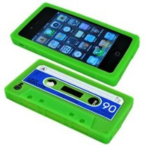 Lime Green Cassette Caze