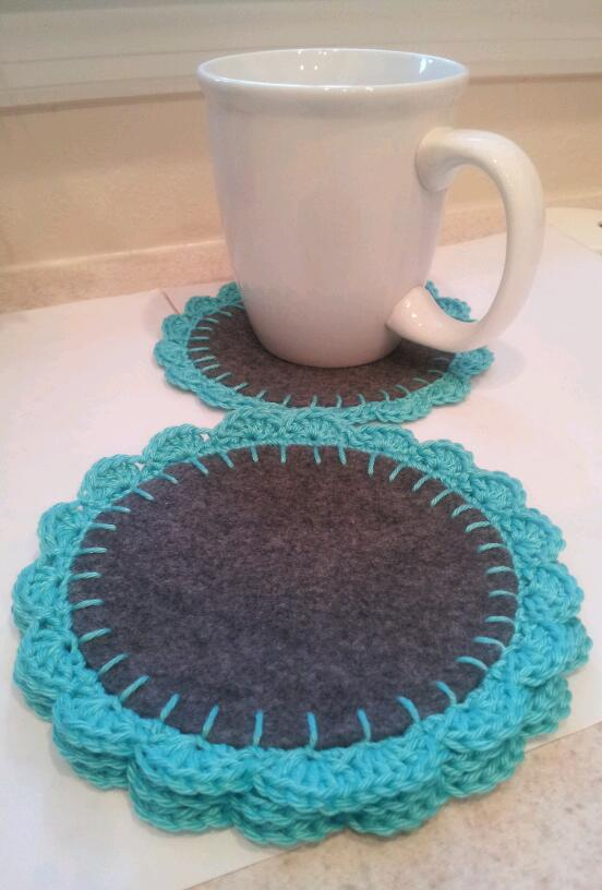 The Different Coaster Set Of 4 On Storenvy