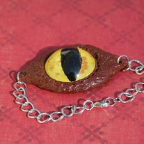 Cat's Eye View Bracelet OOAK