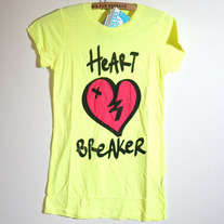 Heart Breaker Tee by Local Celebrity (Brand New)