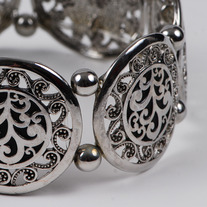 Vintage Filigree Bangle