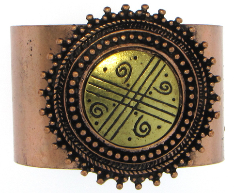 Burnished Copper Bangle