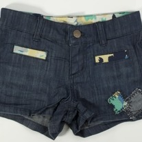 Juicy Couture Jacey Patchwork Denim Short