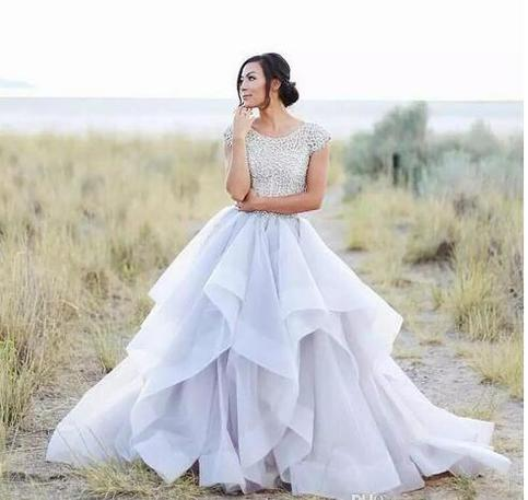 Wedding Dresses Sparkly Beading