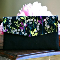 Envelope Clutch - Leaves