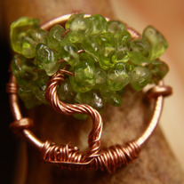 Wear a Tree on your Finger - Custom Color Ring