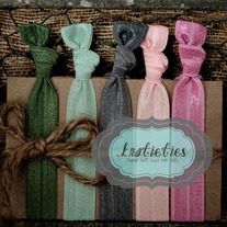 floral : original {knotieties} 10 pack