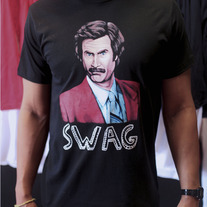 """Ron Burgandy"" unisex T-Shirt"