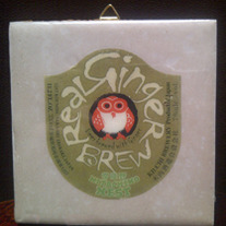 Hitachino Nest - Ginger Brew - Cute Owl Coaster