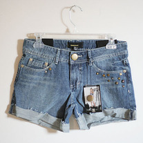 Trashed Studded Shorts by Insight (Brand New)