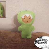 Green Dino Mini Plush