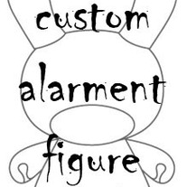 "Small Custom Figure 3"" (Dunny, Qee, Andriod, other)"