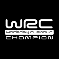 WRC - Workday Rushour Champion Sticker - 2 Pack