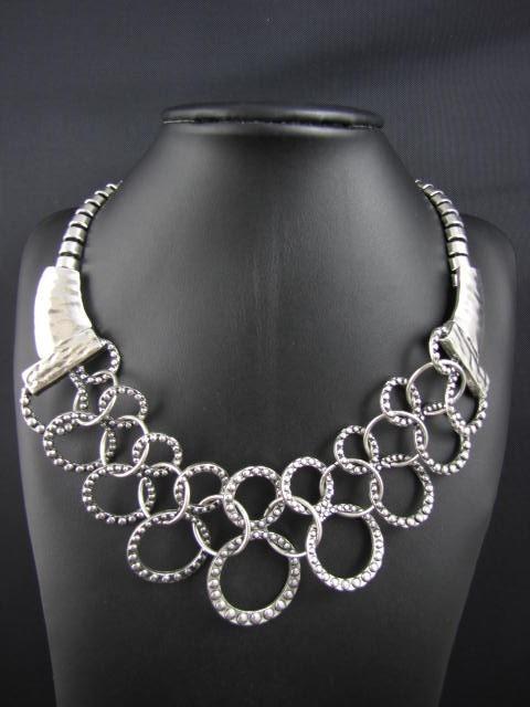 Linked Hoops Necklace 183 Sophisticates Closet 183 Online