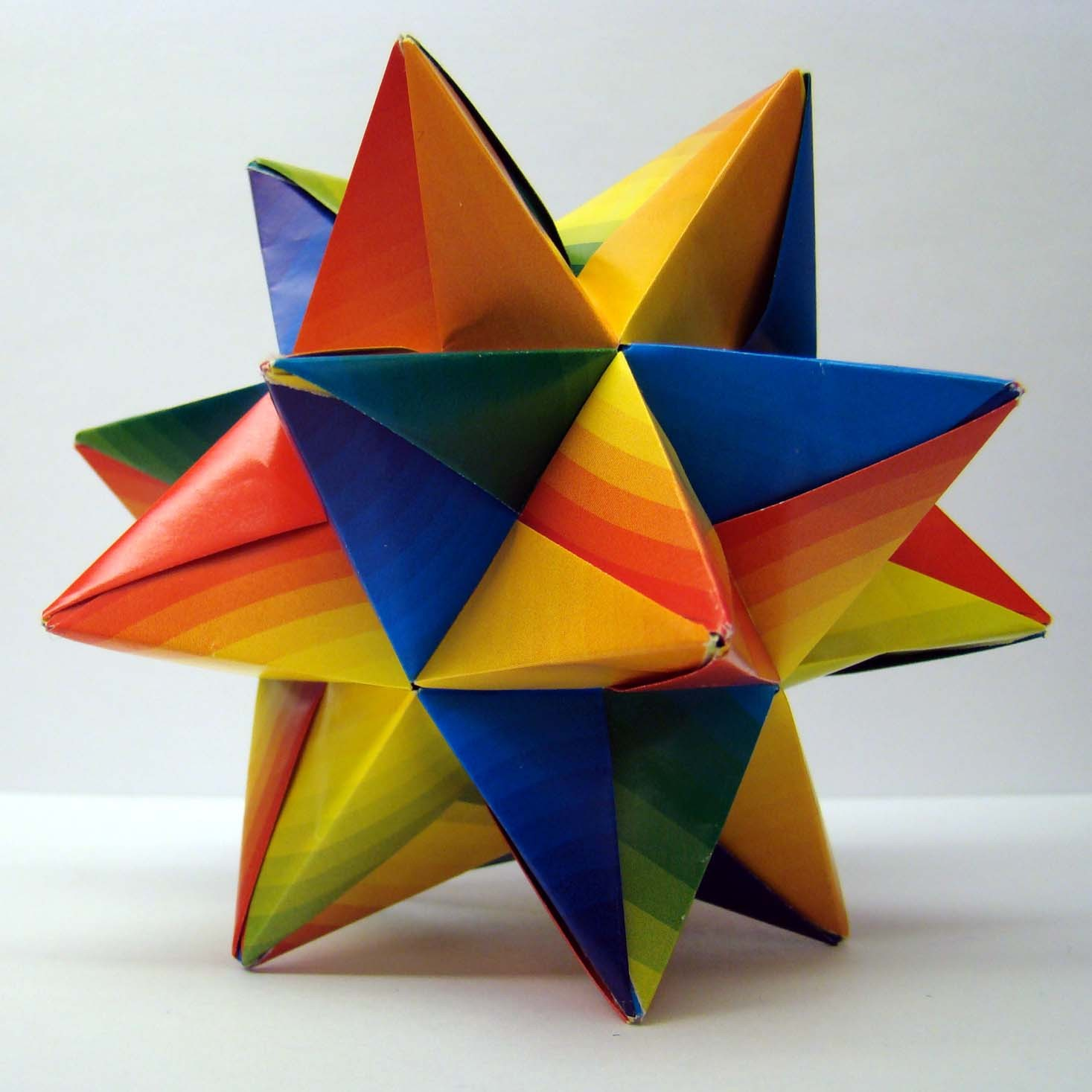 Origami Star Ball How To 3199282