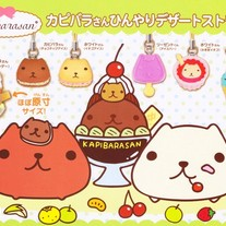 Kapibara-San Sweet Treats Phone Charms