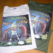 RoboMan and Squid Queen T-Shirt