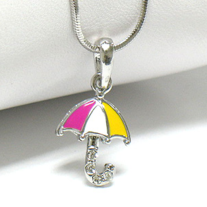 Tiny Umbrella Necklace