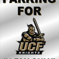 Parking For #1 Knights Fan Only