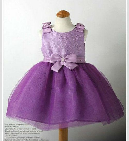 Toddler purple holiday party dress 183 golden treasures boutique