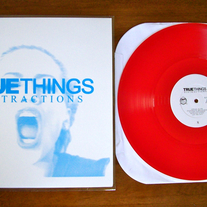 "True Things ""Distractions"" - ltd. 12"" /300 [translucent maroon]"