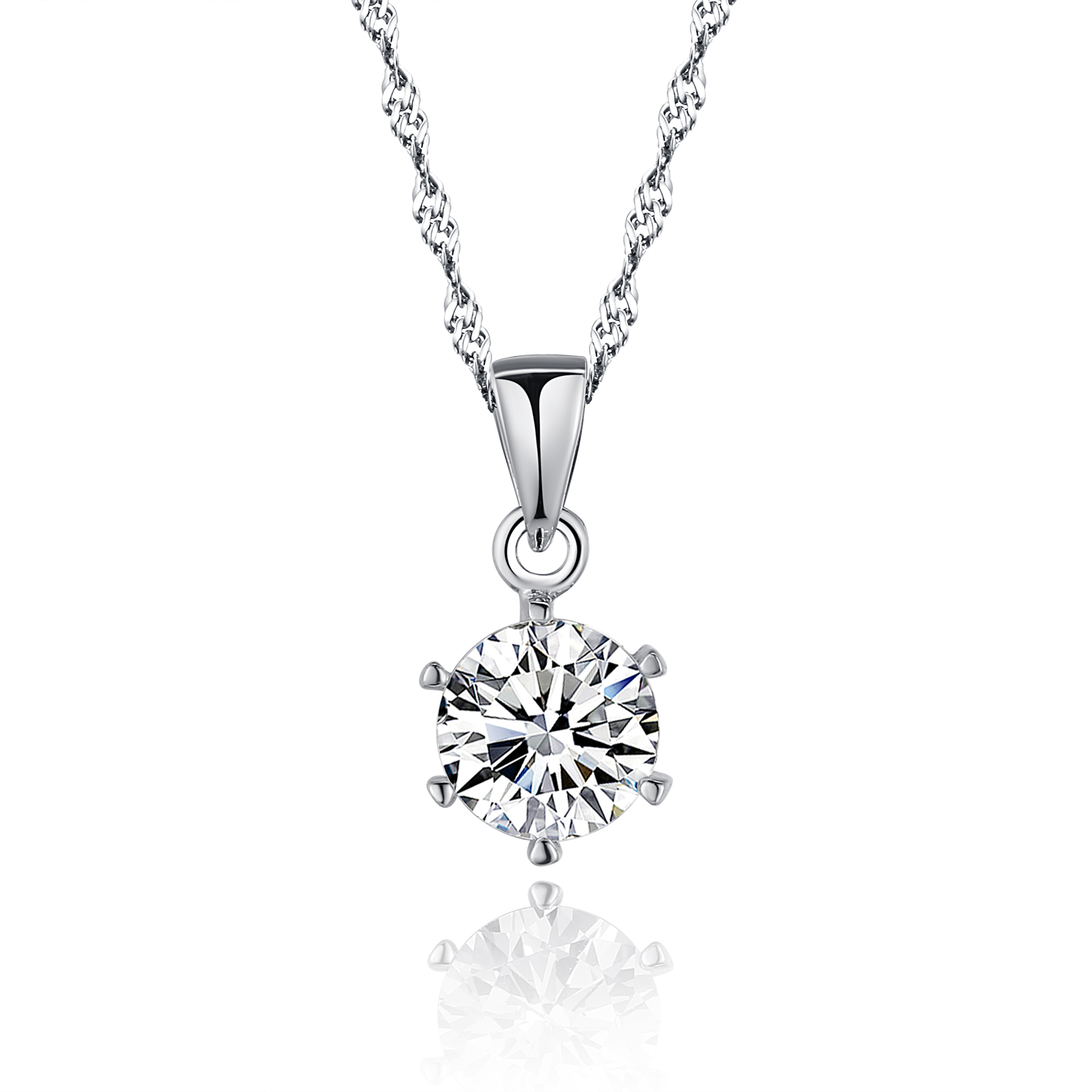 Sterling 925 silver love pendant necklace jewelry set with cubic sterling 925 silver love pendant necklace jewelry set with cubic zirconia cz gemstone diamonds pendant and aloadofball Gallery