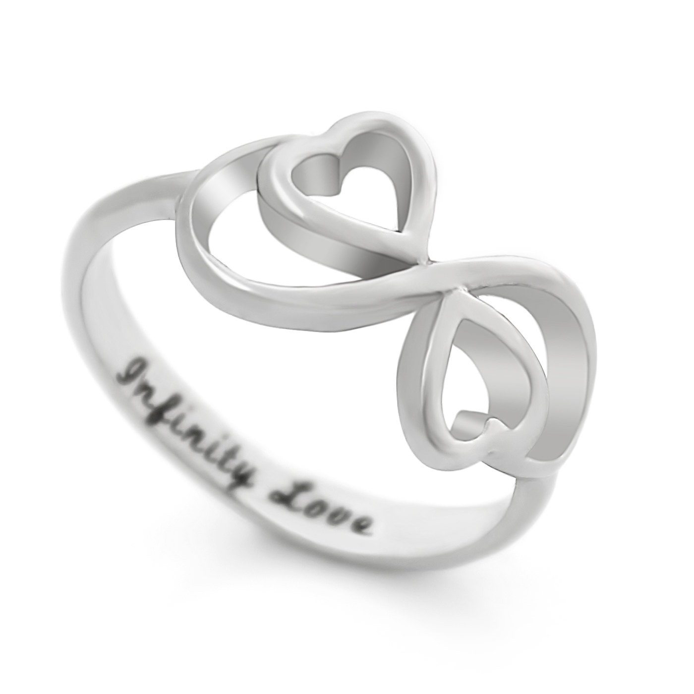 tzaro jewelry ring infinity ring hearts