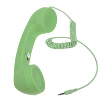 Lime Green Retro Phone (Any Device)