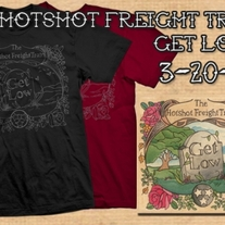 The Hotshot Freight Train-Get Low CD/Shirt Combo