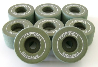 Cottrell Silentred Clay Roller Skate Wheels