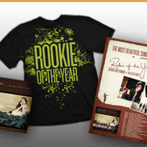 Rookie of the Year-The Most Beautiful CD/Shirt/Poster Combo
