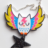 Glam Owl necklace