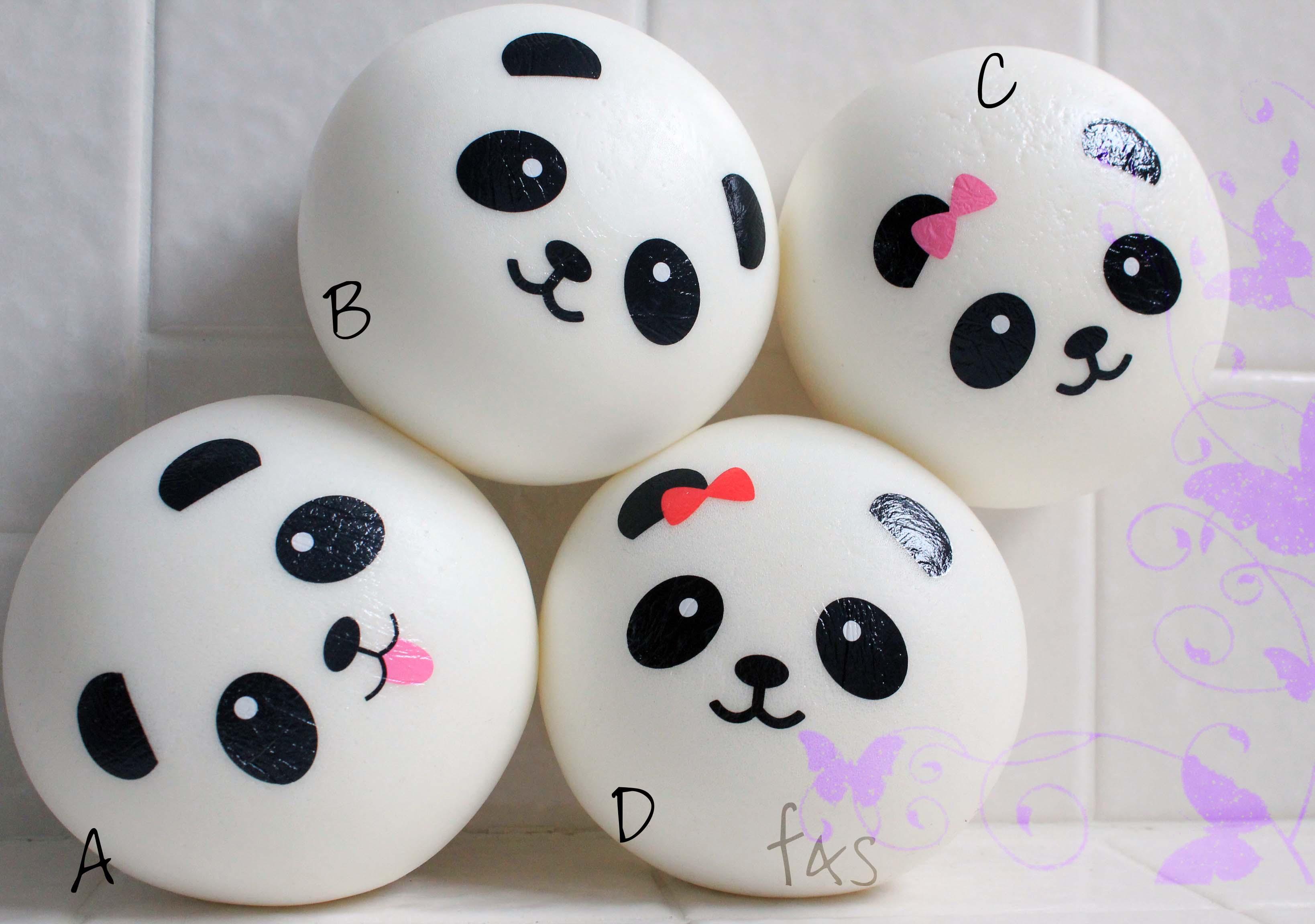 Super Squishy Panda Bun : Jumbo Panda Buns on Storenvy