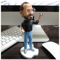 New Steve Jobs Action Figure! The World Loses Jobs! Limited Qty!