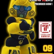 Cute Hand Made Plush Transformers Doll, Movie Bumblebee