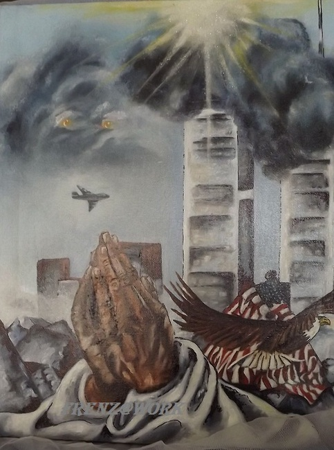 Judy frenz artist fine art god bless america painting for America s finest paint