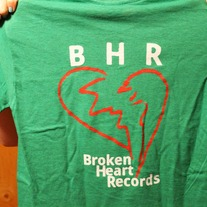 Green Broken Heart T-Shirt